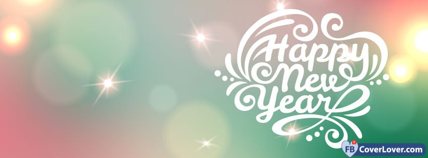 Happy New Year Sparkling Light Holidays And Celebrations Facebook ...