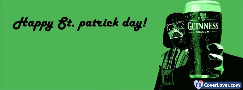 Happy Saint Patrick Darth Vador