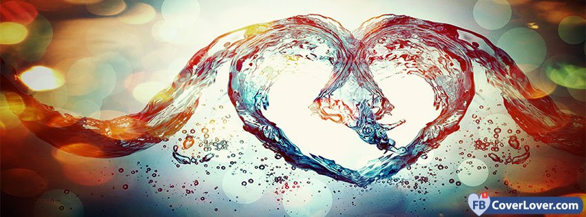Happy Valentines Day Love Symbol Water