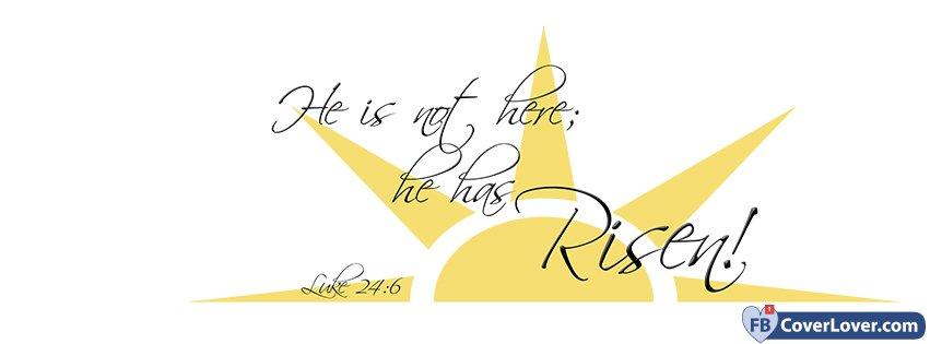 He Is Not Here He Has Risen Luke 24 6
