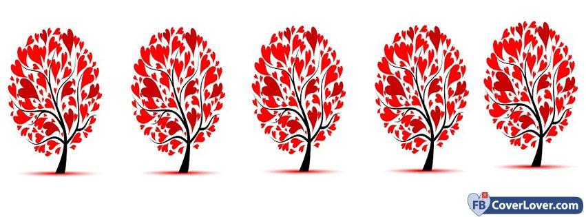 Hearts Trees