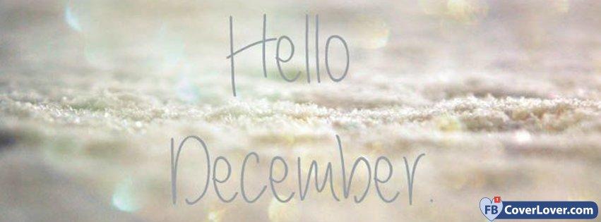 Hello December Full Of Snow