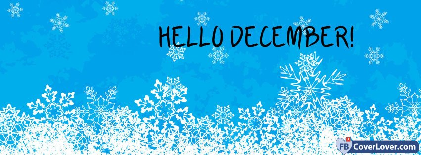 Hello December Snowflakes