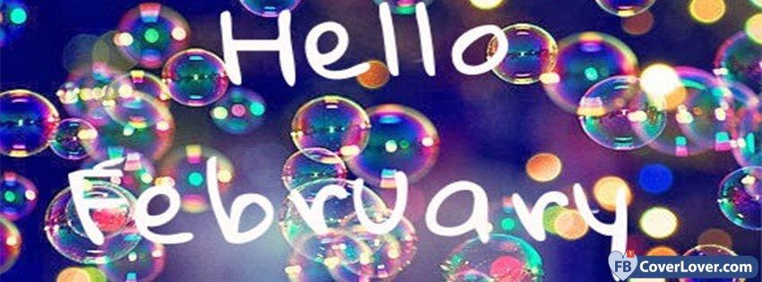 Hello February Bubbles