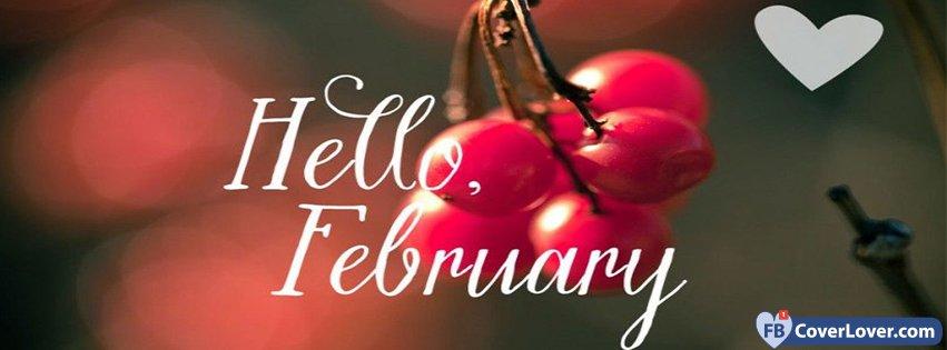 Hello February Cherry Love