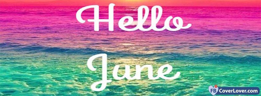 Hello June Sunset