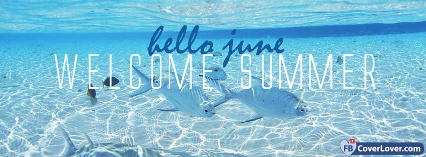Hello June Welcome Summer