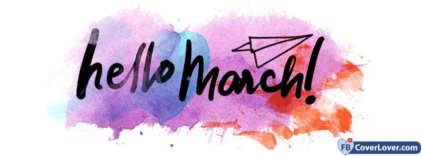 Hello March Pastel
