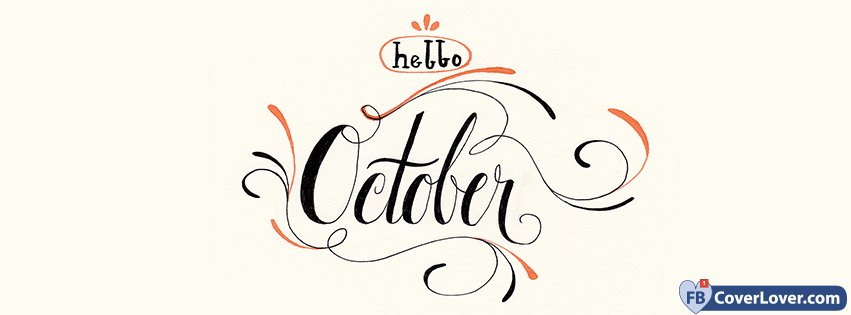 Hello October Handwriting