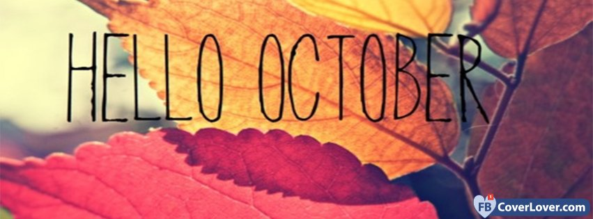 Hello October Leaves