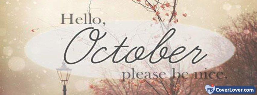 Hello October Please Be Mine