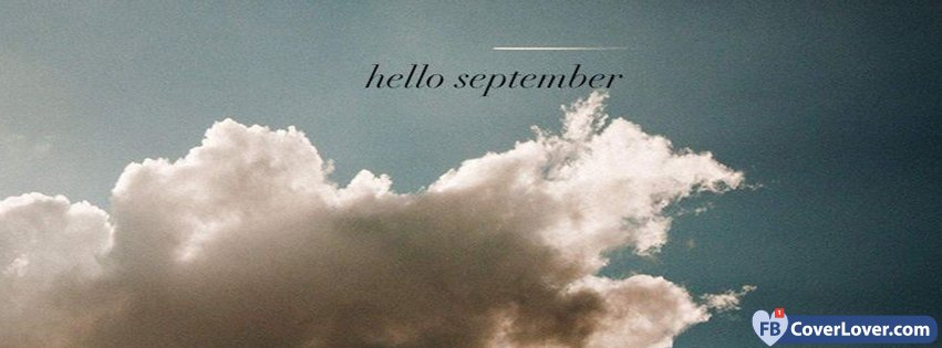 Hello September Sky And Clouds