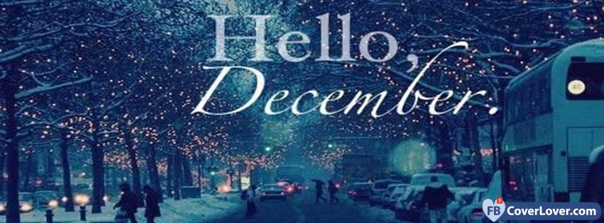 Hello Snowy December