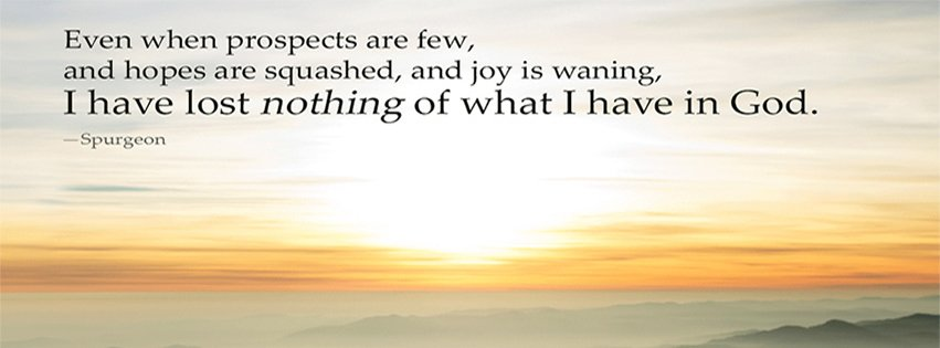 I Have Lost Nothing Of What I Have In God