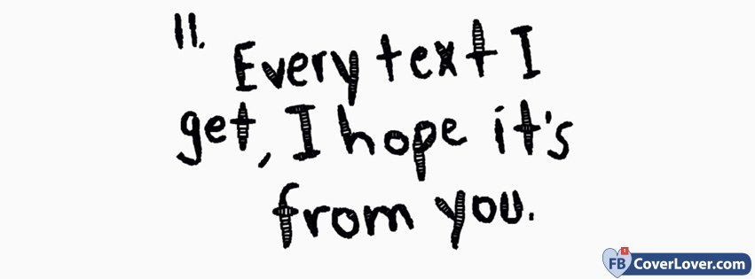 I Hope Its From You
