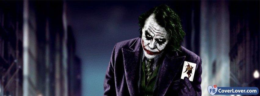 Halloween Joker Card.Joker Card Comics Facebook Cover Maker Fbcoverlover Com