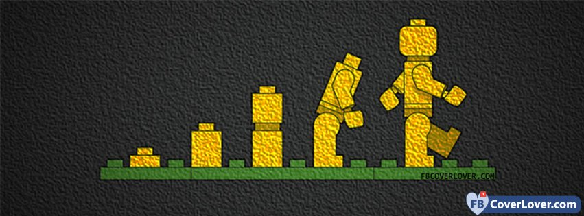 lego evolution funny and cool facebook cover