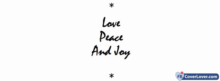 Love Peace And Joy