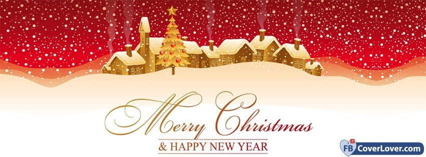 Merry Christmas And Happy New Year 2 Holidays And Celebrations ...