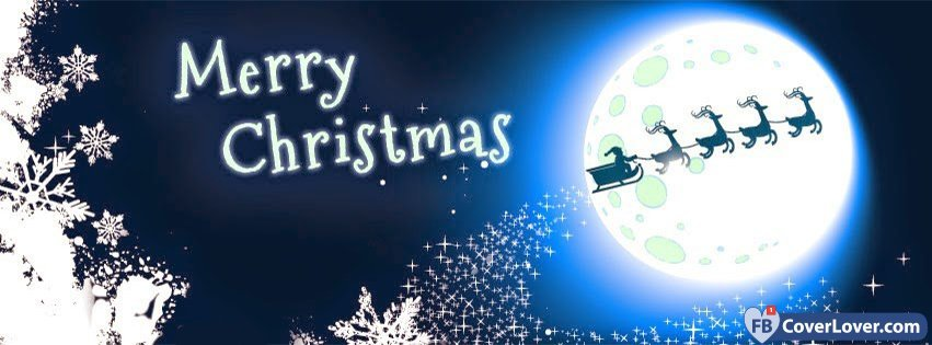 Merry Christmas Holidays And Celebrations Facebook Cover Maker ...
