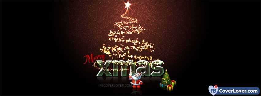 Merry Xmas Holidays And Celebrations Facebook Cover Maker ...