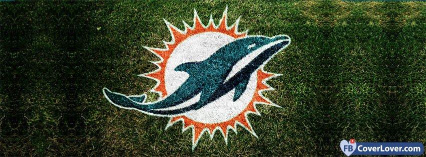 Miami Dolphins Grass Logo
