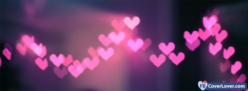 Pink Hearts Lights