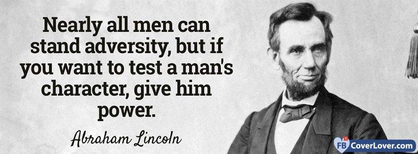 Power Abraham Linclom Quote
