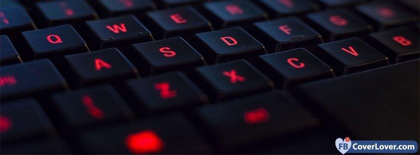 Red Light Keyboard