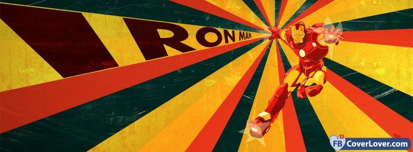 Retro Iron Man