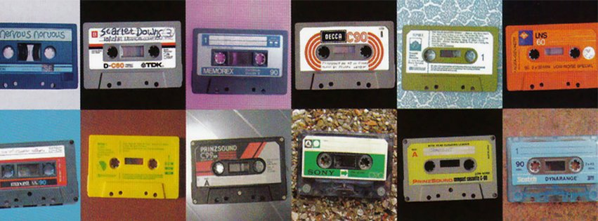 Retro Tapes Collage