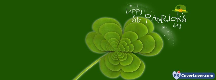 Saint Patrick Four Leaf Clover 3
