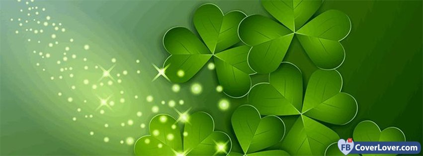 Saint Patrick Four Leaf Clovers 1