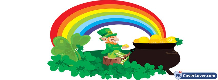 Saint Patricks Day Rainbow