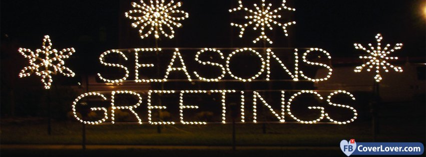 Seasons Greetings Lights
