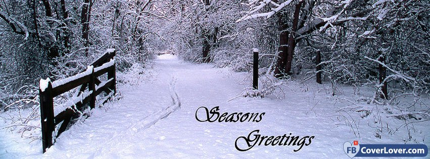Seasons Greetings Snow