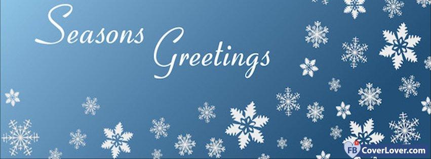 Seasons greetings snowflakes holidays and celebrations facebook seasons greetings snowflakes m4hsunfo