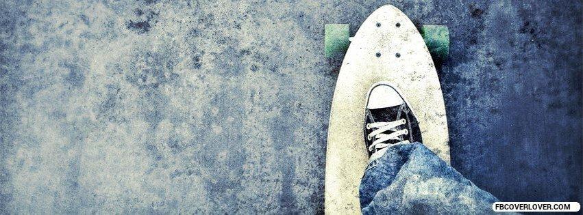 Riding A Skateboard