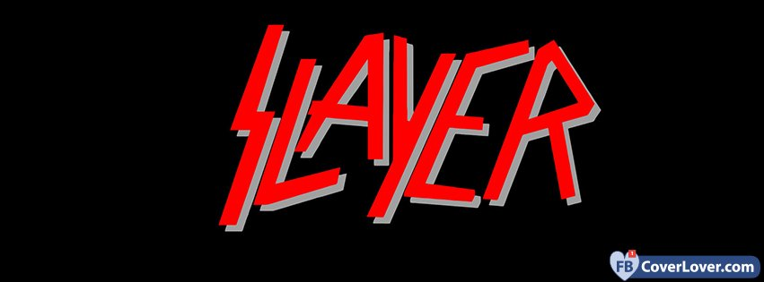 Slayer Red And Black Logo
