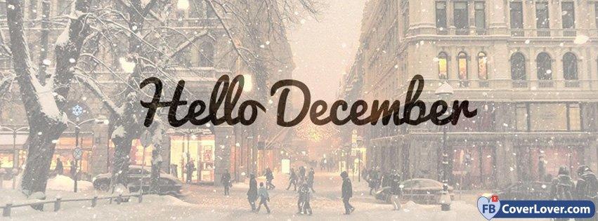 Snowy Hello December