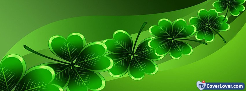 St Patricks Day Clovers String