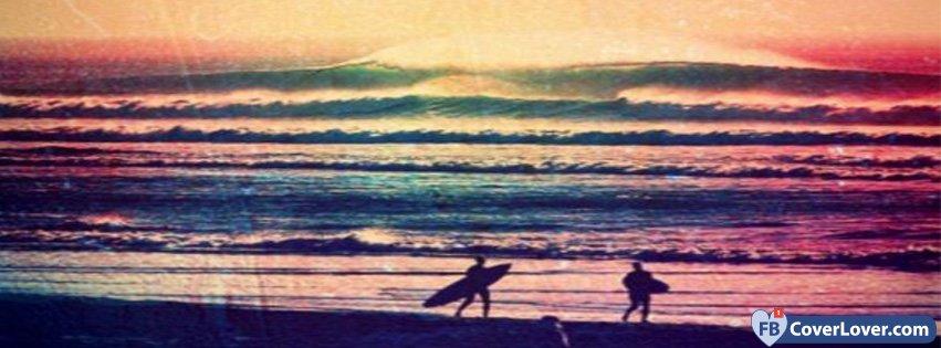 Surfing Scene