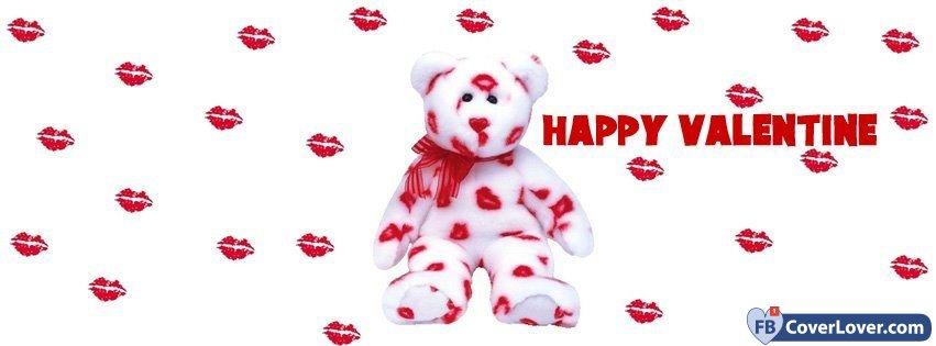 Teddy Bear Valentine Kisses