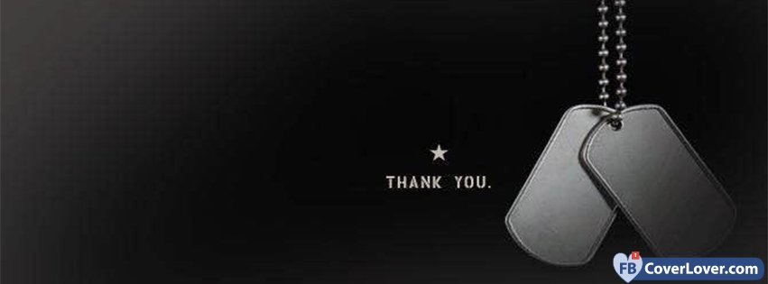 Thank You Veterans Dog Tags