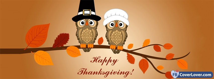 Happy Thanks Giving Owls