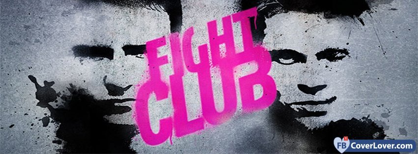 The Fight Club Movies And TV Show Facebook Cover Maker ...