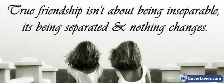 True Friendship Quotes And Sayings Facebook Cover Maker Fbcoverlover