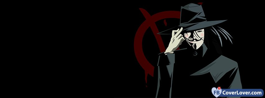 V For Vendetta Comic Cover