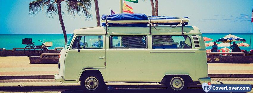 Vintage Surf Van