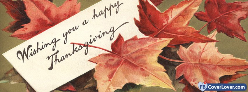Whishing You A Happy Thanksgiving